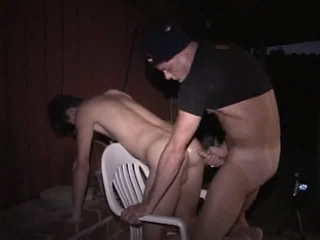 Hot dude getting brutally forced fucked