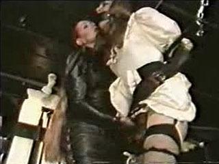 Big sissy gets wanked off