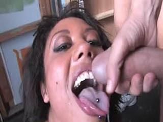 Angelica Black gets creamed