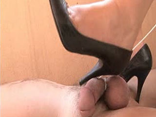 Cock Crushed By Wonderful Shoes