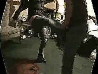 Cassandra hard kicks and knees
