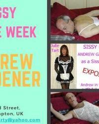 Sissy Gay Crossderesser Andrew Julietart Exposed