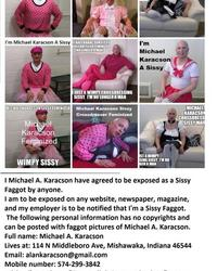 Michael Karacson Sissy Crossdresser Feminized