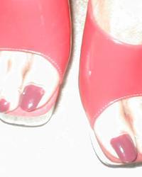 Nessa's Sissy Feet