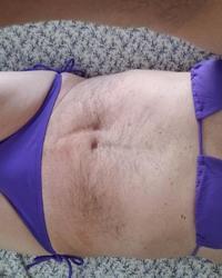 New purple bikini