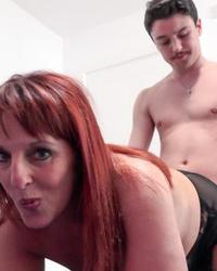 Hot mature lady got fucked