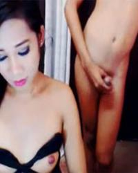 Shemale Duo Fucking On Cam