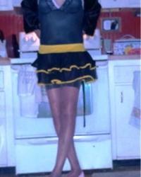 New yellow petticoat