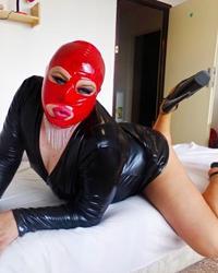 latex mask