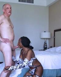 Interracial Porn Shooting -- behind the scenes