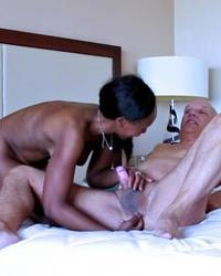 Porn Actor Cane interracial porn shooting