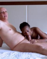 Porn Shooting Interracial