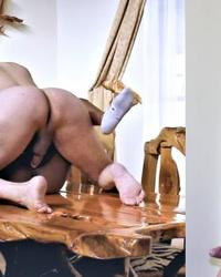 Pornstar Cane fucking on a meeting table