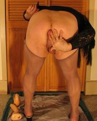 Sissy Crossdresser Jazmin Spreading