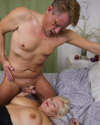 Doctor Lacey Starr and patient Marc Kaye