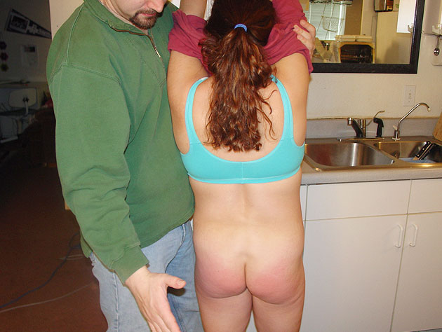 Lazy housewife gets punished