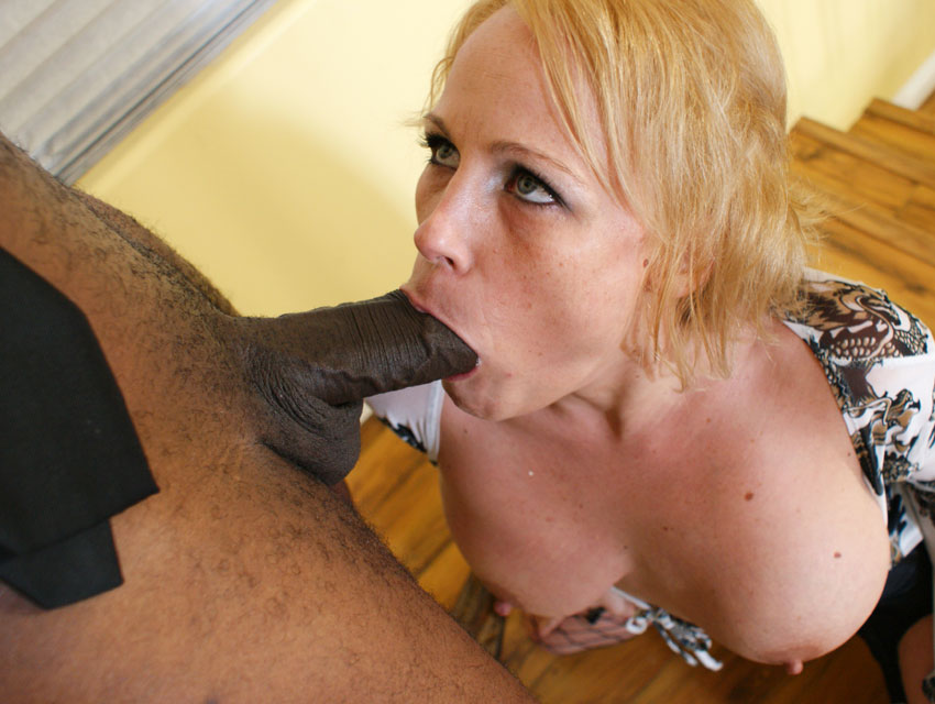 She loves her black lolly