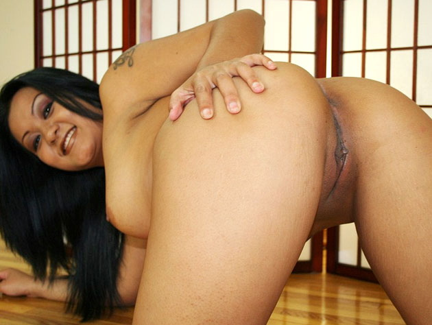 Asian ass ready for a party