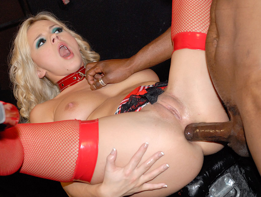 Blonde bitch analed hard