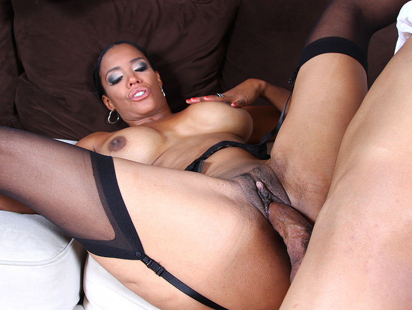 Spread your legs for a black rod!