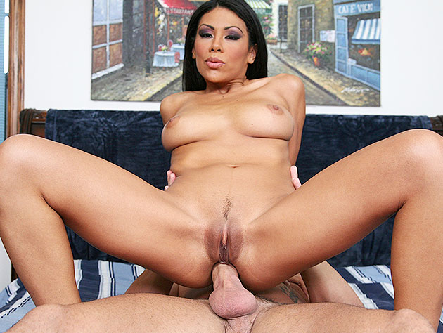 Tight Latin ass stretched wide