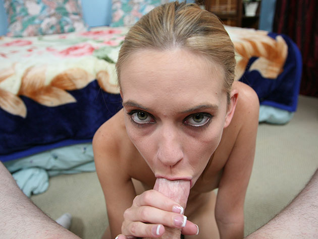 Hot amateur blowjob