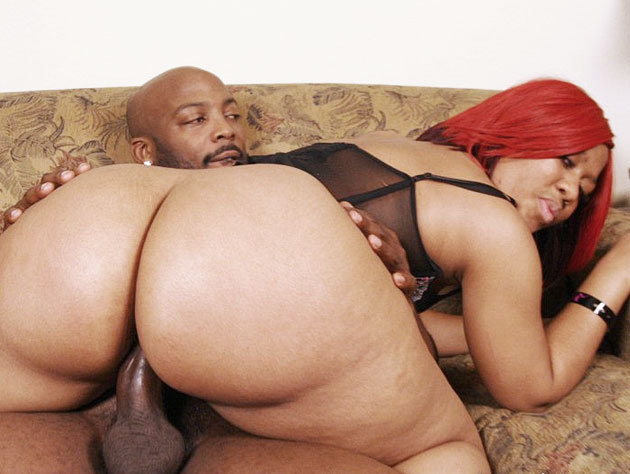 Lucious' Big Black Ass Gets Boinked