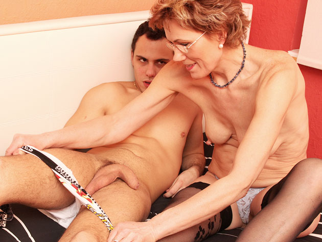 This Granny Loves Big Cock