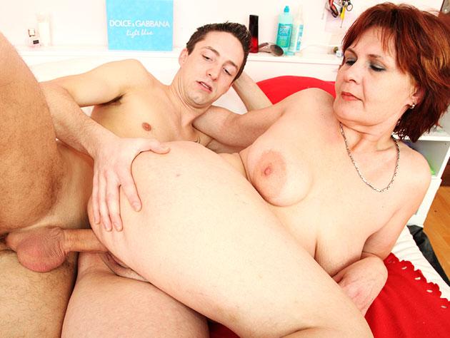 Grandma Gets Some Cock!