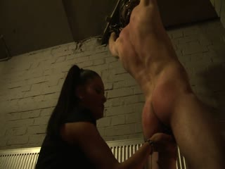 Sarah dildoing Riko's butt