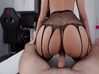 Filthy Woman In Sexy Lingerie Bouncing On Hard Dick