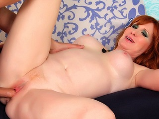 Redheaded MILF Freya Fantasia Gets Penetrated Hard