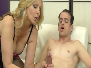 Hot Mom In Control Teasing And Playing With Her Slaves Cock
