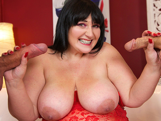 Andi XXX - Double Dick Dessert