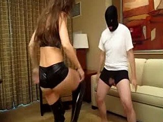 Ballbusting Session With Mistress Wonder Hussy