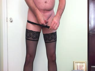 Me Cumming In Black Stockings