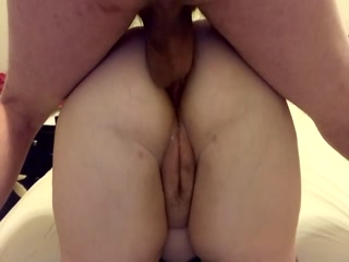 My Neighbor Cums Deep In My Ass In 2 Minutes And Gapes My Fat Ass