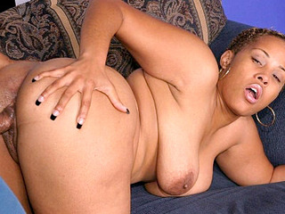 Ass Banged Ebony BBW Entyce