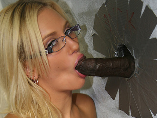 Adrian Olsen Sucking A Big Black Cock