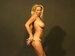 Busty dancer