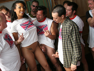 Desiree Diamond And A Lot Of Dicks