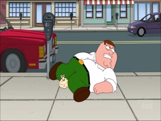Peter Getting Hit In The Balls