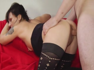 Horny Student Banging Mature Lady