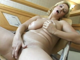 Busty Mature Fingering Her Cunt