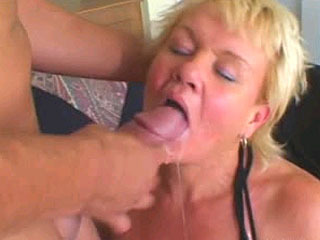Busty Boned Mature In Her Wet Twat