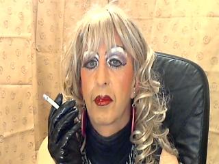 Mandy Slutty Makeup Smoke Whore
