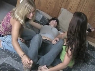 Tied Up Girl Gets Her Feet Tickled
