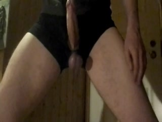 Cbt Teen Hitting And Stretching His Big Balls