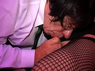 See Mature Crossdressers In Blowjob Action