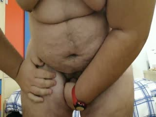 Teen 19 Years Old Busting His Useless Balls